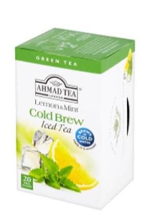 Picture of Ahmad Tea - Cold Brew - Lemon&mint20x2g