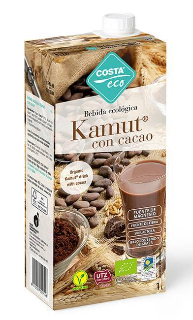 Picture of COSTA ECO ORGANIC KAMUT MILK WITH COCOA 1LTR