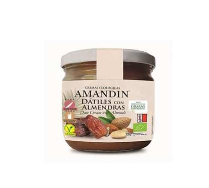 Picture of AMANDIN ORGANIC DATE CREAM AND ALMOND 330GM