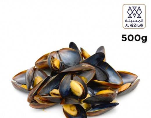 Picture of Full Shell Mussels (500gms x 20 pkts)