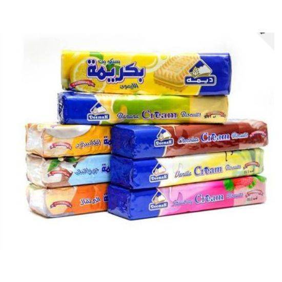 Picture of DEEMAH ASSORTED CREAM BISCUITS 110 GMS (5+3) PROMO