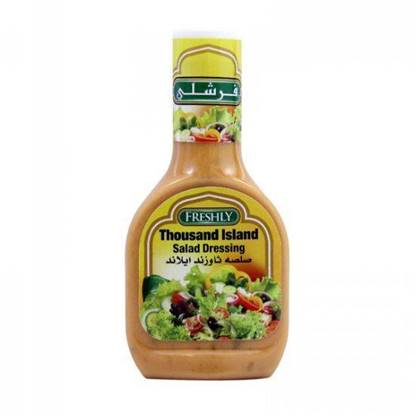 Picture of FRESHLY THOUSAND ISLAND SALAD DRESSING 237 ML