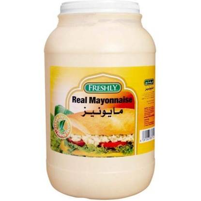 Picture of FRESHLY REAL MAYONNAISE 3.78 LTR