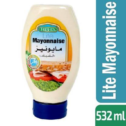Picture of FRESHLY LITE MAYONNAISE 532 ML