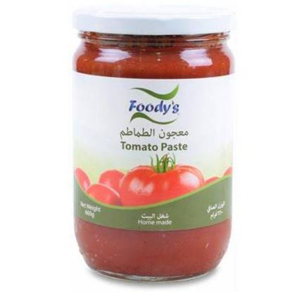 Picture of FOODYS TOMATO PASTE GLASS 660 GMS