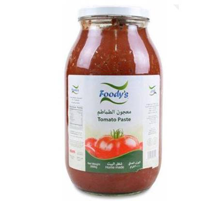 Picture of FOODYS TOMATO PASTE GLASS 3 KG