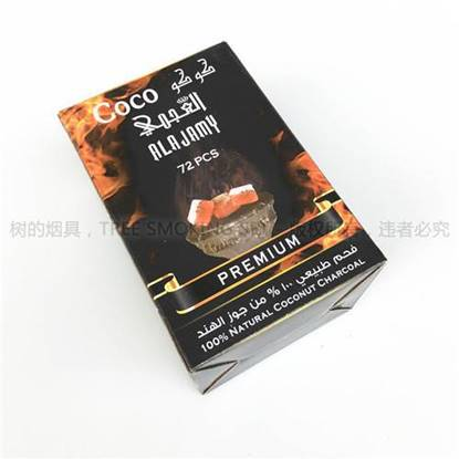 Picture of AJAMY COCONUT CHARCOAL 72 PCS BIG PCS