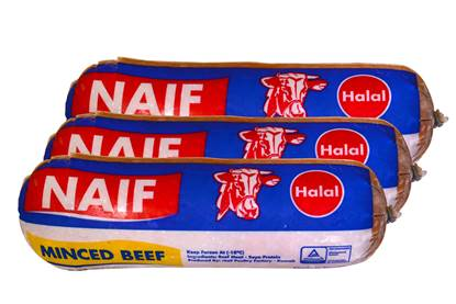 Picture of Naif Frozen Minced Beef ( 450 GM * 3 Roll )