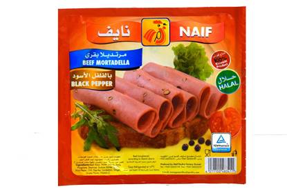 Picture of Naif Beef Mortadella with Pepper  (150 GM * 1 Pouch )