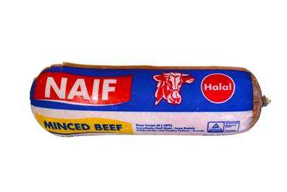 Picture of Naif Frozen Minced Beef ( 450 GM * 1 Roll )