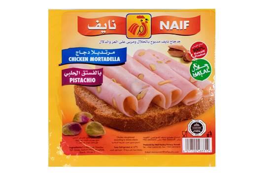 Picture of Naif Mushroom Chicken Mortadella Slices (150 GM * 1 Pouch )