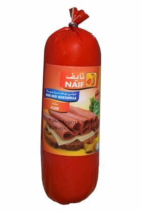 Picture of Naif Mini Beef Mortadella Roll( 500 GM * 1 Roll )