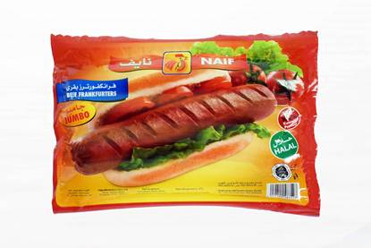 Picture of Naif Jumbo Beef frankfutees (360 GM * 1 Pouch )