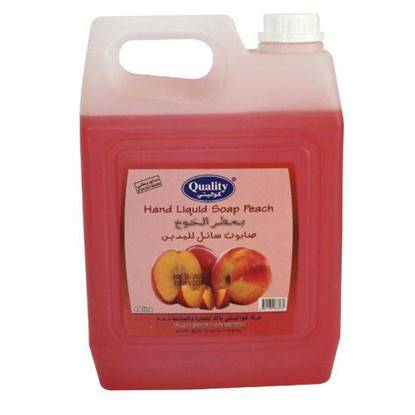 Picture of Quality Pack Hand Wash 4 Liter Red Peach