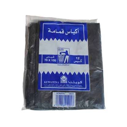 Picture of Kuwaitina Garbage Bags 100 × 70 - 12 Bags