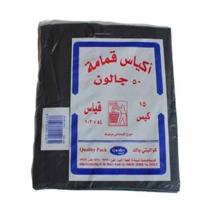 Picture of Quality Pack Garbage Bags 50 Gallon103 × 84 -15 Bags