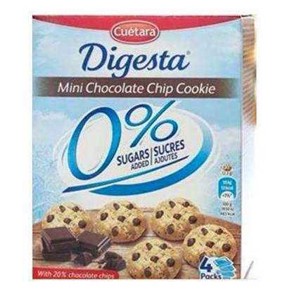 Picture of Cuetara DIGESTA LIGHT-MINI COOKIES 0% 120G.