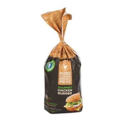 Picture of Chicken Burger Bag Freshly 1kg*10