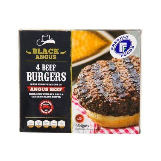 Picture of Burger Black Angus Beef Freshly 454 g*10