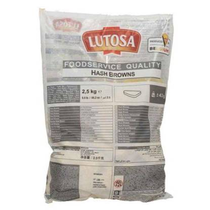 Picture of Potato Hash Brown Lutosa 2.5kg X4