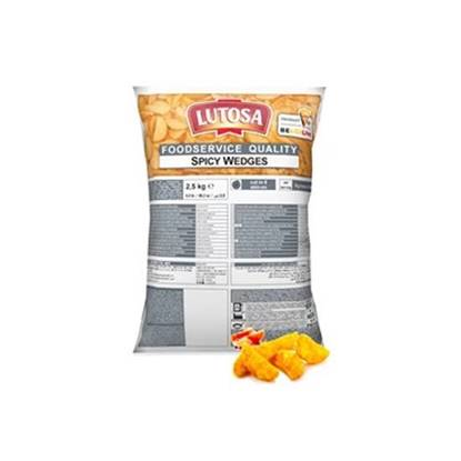 Picture of Potato Wedges Spicy Lutosa 2.5kg×4
