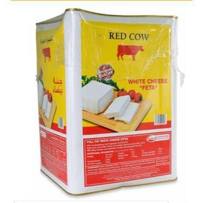 Picture of Red Cow  White Cheese Feta Saudi 16kg