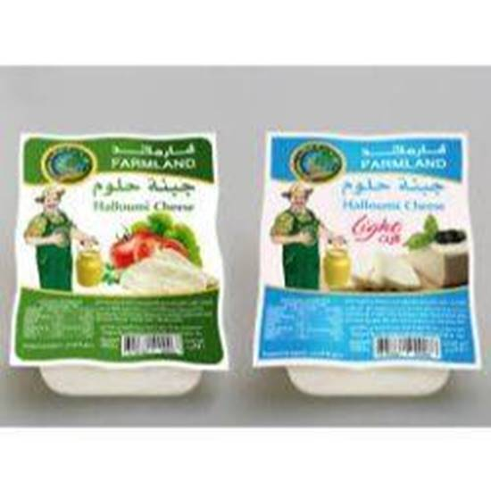 Picture of FARMLAND Cheese Halloum  LIGHT 250gm*40 Pcs