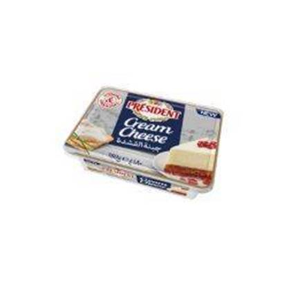 Picture of PRESIDENT Cream Cheese Tub 180gx16 (117118)