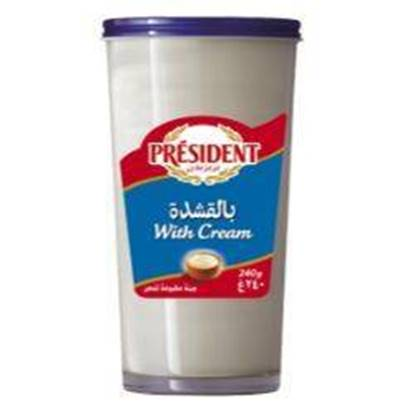 Picture of Cheese President Glass CREAM 240gm*12