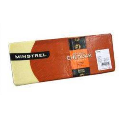 Picture of MINSTREL  Mild White Cheddar 5kg