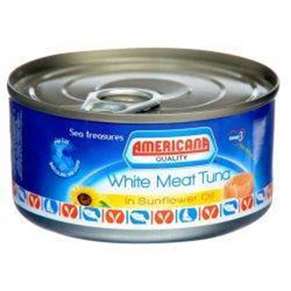 Picture of Americana White Tuna Sunflower Oil 4*160 g