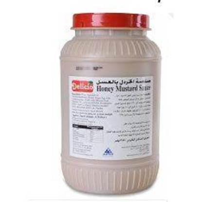 Picture of Delisio Honey Mustard Sauce 3.78 Liter×4