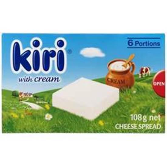 Picture of Kiri With Fresh Cream  5x108g