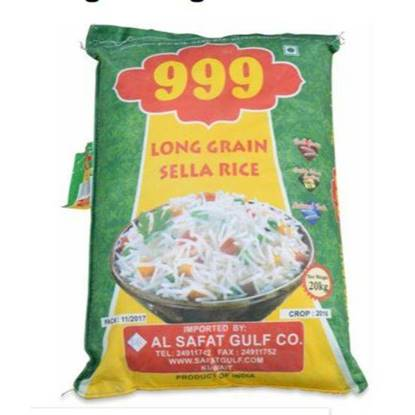 Picture of Rice Sella Long Grain 999 White 20kg*2