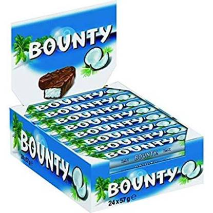 Picture of Bounty Chocolate 24 * 57 g