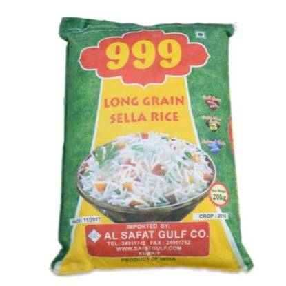 Picture of Rice Sella Long Grain 999 White 20kg