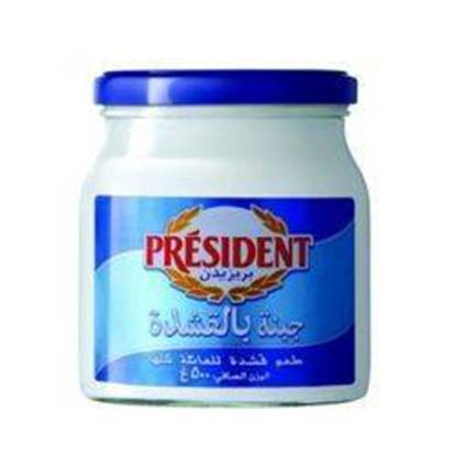 Picture of PRESIDENT Glass Jar Cream Cheese 240gx12