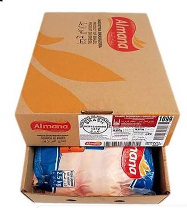 Picture of Al Mana Frozen Boneless Chicken Shawarma 2.5kg*4