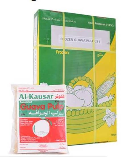Picture of Al kwther Frozen Guava Pulp 1KG*16