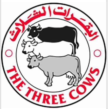 صورة للشركة المصنعة: البقرات الثلاث