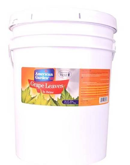 Picture of American Garden China Grape Leaves  Pail  ( 11 KG * 1 Pail