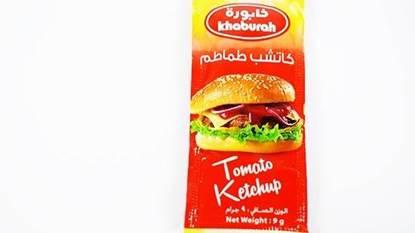 Picture of Khaburah Plain Tomato Ketchup Sachet (9 GM * 1000 Pieces