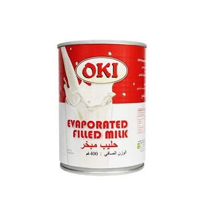 Picture of OKI Evaporated Filled Milk  400gm*48