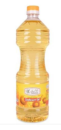 Picture of Tabarak pure Sunflower Oil  1.8ltr*6