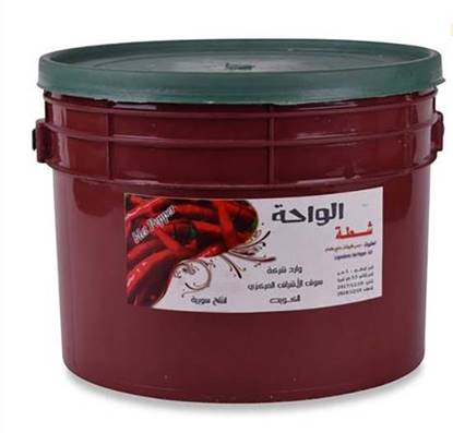 Picture of Al WahaMince Red Pepper With Oil (Maaboog)( 5 KG * 1 Pail)