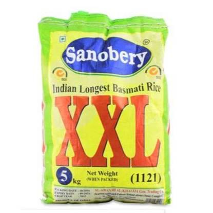 الصورة: Sanobery XXL Rice Basmati Long Grain for Majbos&Biryani 5kg*8