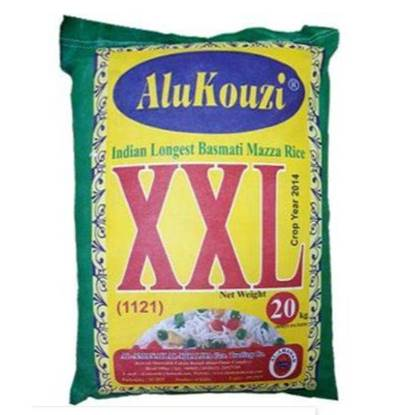 Picture of Alukouzi XXL Rice Basmati Cream Sella for Bukhari & Mandi 20kg