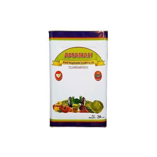 صورة Amanah vegetable Cooking Oil 20Ltr