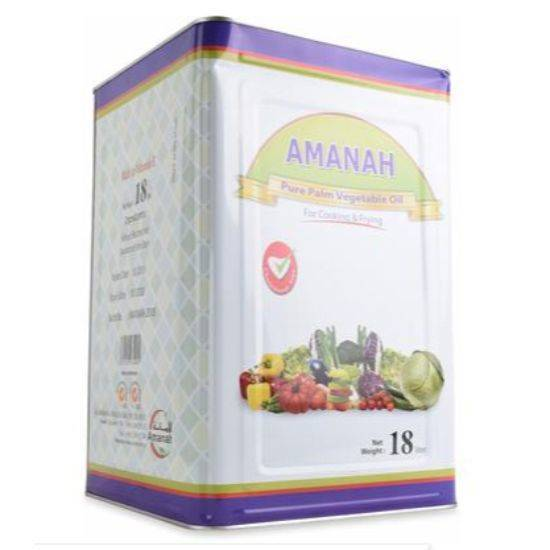 Picture of Amanah vegetable Cooking Oil 18Ltr