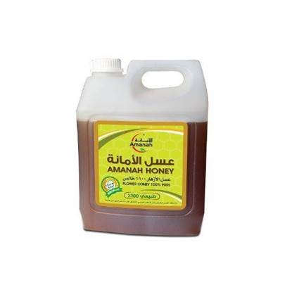 الصورة: Amanah 100% Natural Flower Honey 5KG